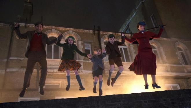 Take a trip to Mary Poppins' world at Banking Hall