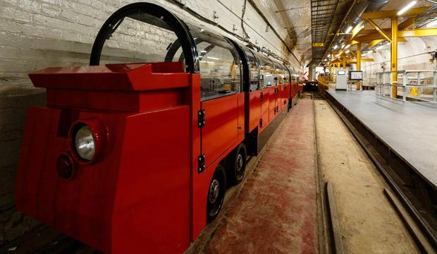 The Mail Rail at the Postal Museum