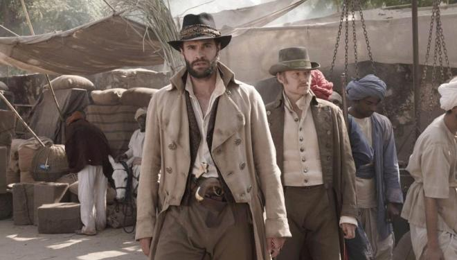 Tom Bateman and Marc Warren in Beecham House, ITV