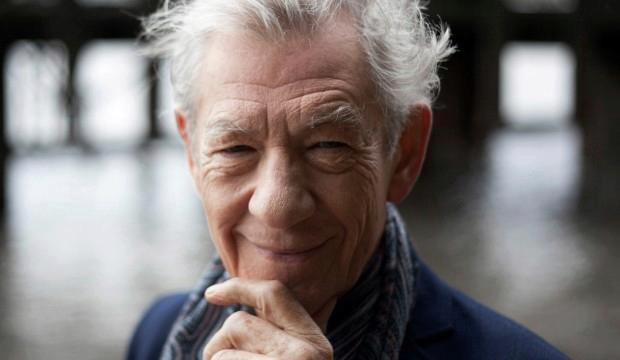 Ian McKellen, photo by Pip Camera Press