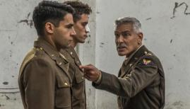 George Clooney and Christopher Abbott in Catch-22, Channel 4
