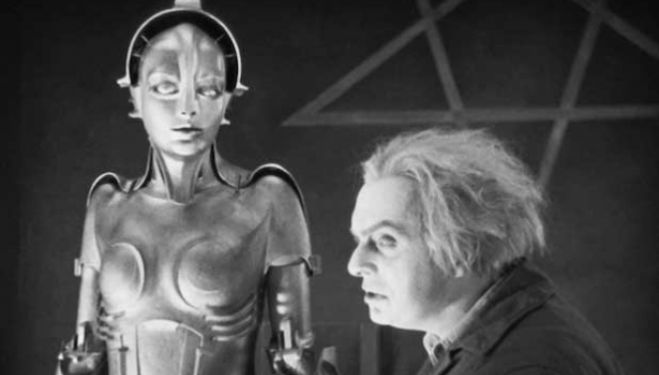 A still from Fritz Lang's cult classic Metropolis