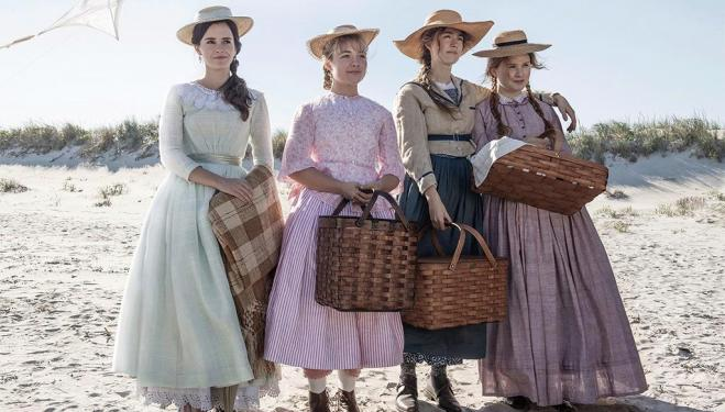 Emma Watson, Florence Pugh, Saoirse Ronan and Eliza Scanlen in Little Women