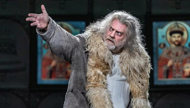 Bryn Terfel stars in the title role of Boris Godunov at the Royal Opera House. Photo: Clive Barda