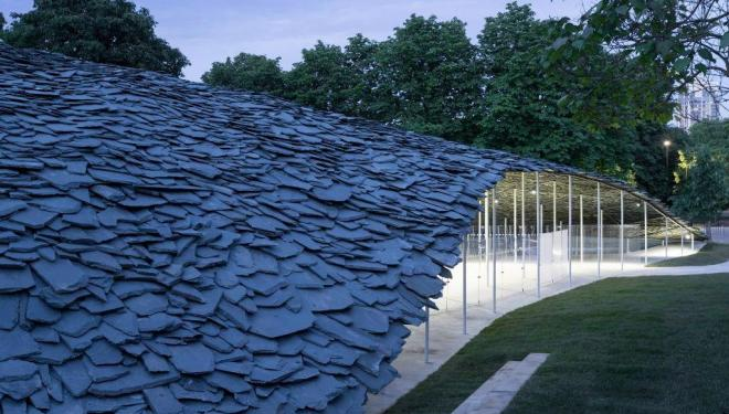 Serpentine Pavilion 2019 Designed by Junya Ishigami, Serpentine Gallery, London (21 June – 6 October 2019), © Junya Ishigami + Associates, Photography © 2019 Iwan Baan Download image
