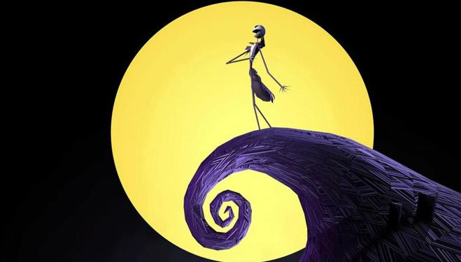 Tim Burton's festive fantasy screens with a live orchestra