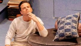 Andrew Scott, Present Laughter at the Old Vic. Photo by Manual Harlan