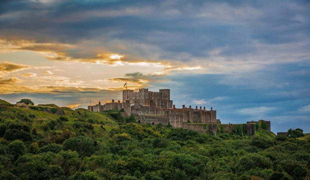 Take the family to the picturesque Dover Castle. Photo: English Heritage