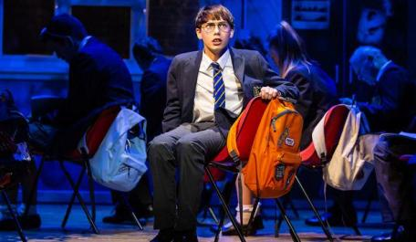 Adrian Mole is back on stage at the Ambassadors' Theatre. Photo: Pamela Raith