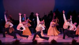 Alvin Ailey American Dance Theatre in Alvin Ailey's Revelations, photo Christopher Duggan4