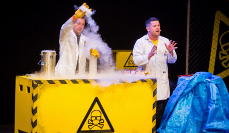 Prepare for all kinds of wacky scientific experiments at Brainiac Live!