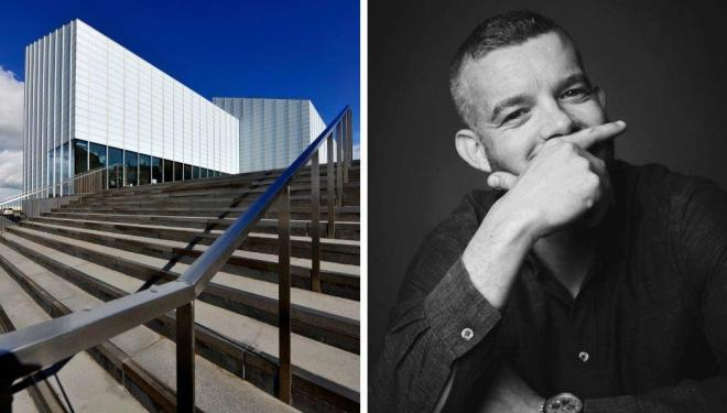 Left: Turner Contemporary. Photo: Thanet District Council, courtesy Turner Contemporary. Right: Actor and guest curator of Margate NOW, Russell Tovey