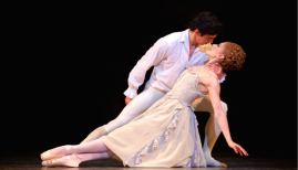 The Royal Ballet, Federico Bonelli and Marianela Nuñez in Manon (c) ROH 2014 Alice Pennefather