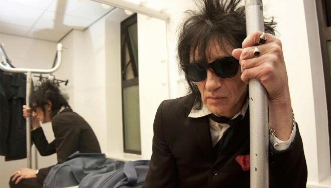 An audience with Dr John Cooper Clarke in London
