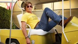 Brad Pitt in Once Upon a Time ... in Hollywood, released on 14 August in the UK