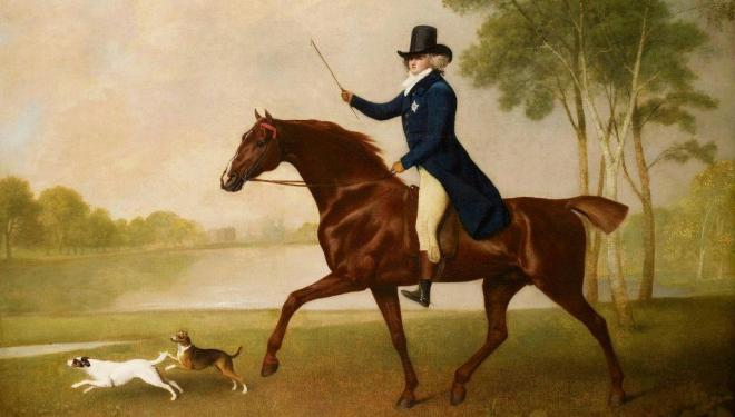 George Stubbs, George IV (1762-1830) when Prince of Wales, 1791   Credit: Royal Collection Trust / (c) Her Majesty Queen Elizabeth II 2019