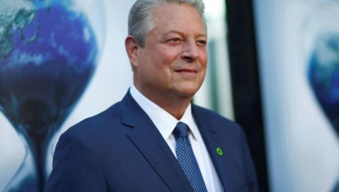 Al Gore brings his climate crusade to London