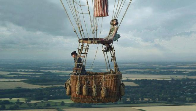 Eddie Redmayne and Felicity Jones take flight in The Aeronauts