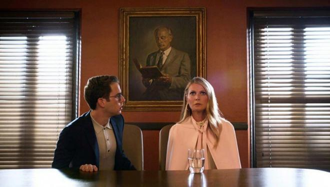 Ben Platt and Gwyneth Paltrow in The Politician