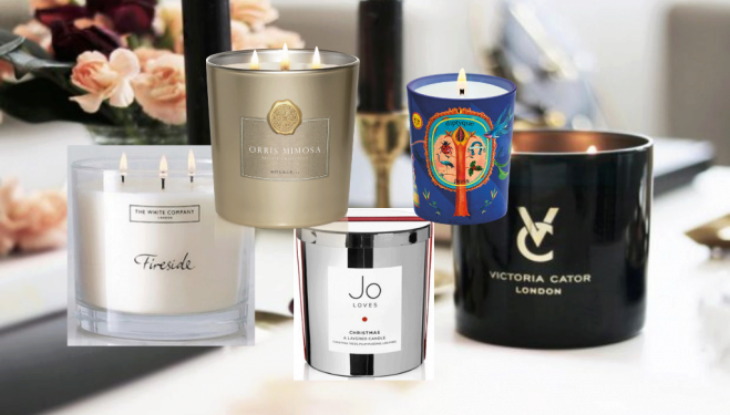 Cosy up with these festive new candles for Autumn/Winter 2019