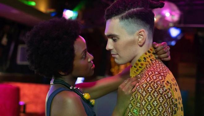 Masali Baduza and Jack Rowan in Noughts + Crosses, BBC