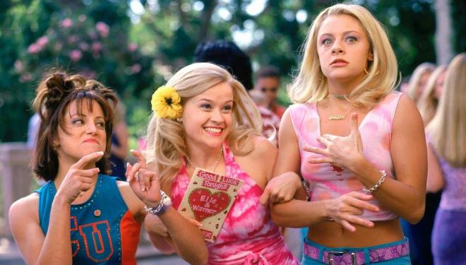 Reese Witherspoon in initial stages of Legally Blonde 3
