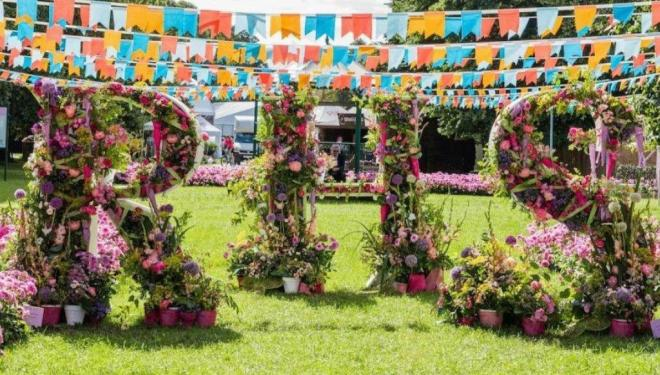 Tickets on sale for Hampton Court Palace Garden Festival 2020