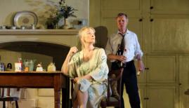 Lindsay Duncan (Diana), Alex Jennings (Robin) in Hansard by Simon Woods, image  by Catherine Ashmore