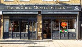 Hoxton Street Monster Supplies is a monster shop and creative writing charity in one