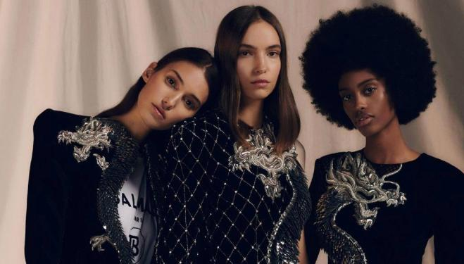 Christmas party dresses 2019 (Balmain pre-fall)