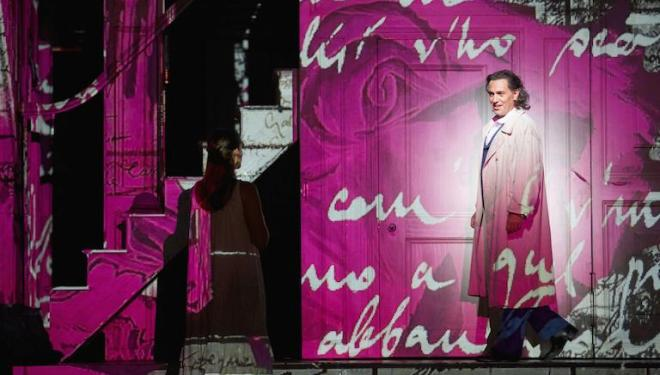 Erwin Schrott is a marked man in Don Giovanni at Covent Garden. Photo: Mark Douet