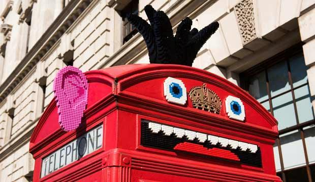 LEGO's Rebuild the World campaign offers a playful twist on the iconic red telephone box