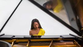 Pianist Isata Kanneh-Mason plays Beethoven on 18 April for the Royal Albert Hall's Love Classical series. Photo: Robin Clewley