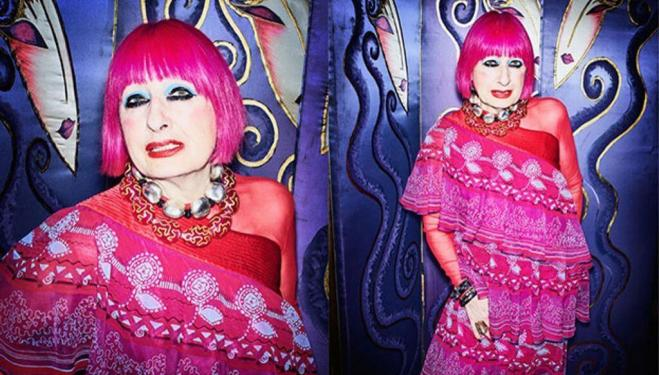 London fashion talks to book now: Zandra Rhodes © Simon Emmett