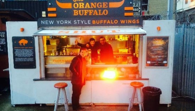 Orange Buffalo, Old Truman Brewery