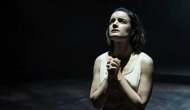 Aoife Duffin in Blood Wedding at Young Vic. Photo by Marc Brenner
