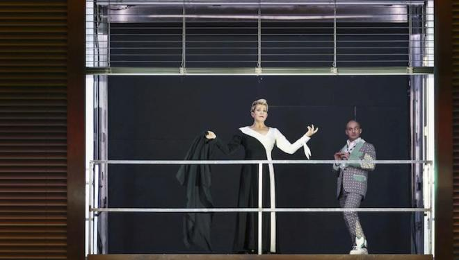 Joyce DiDonato and Franco Fagioli are dazzling in Agrippina. Photo: Bill Cooper