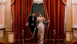 Tom Burke and Honor Swinton-Byrne in The Souvenir