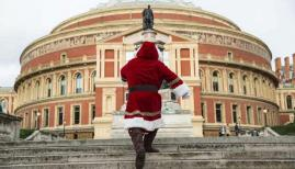 Father Christmas and a healthy dose of London culture at the Royal Albert Hall