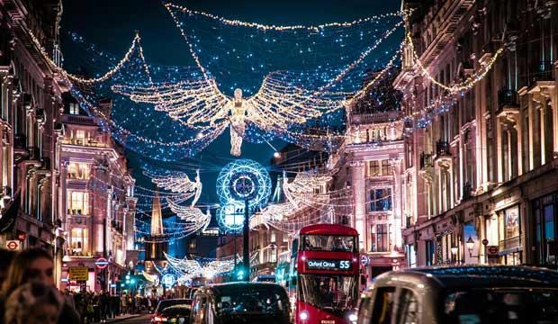London is a winter wonderland for kids. Photo: Jamie Davies