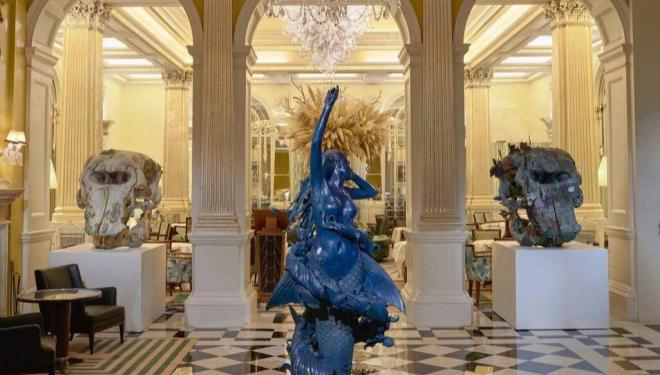 Damien Hirst, Treasures from the Wreck of the Unbelievable, Claridges