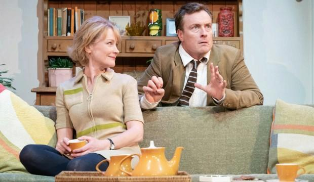 Claire Skinner and Toby Stephens in A Day in the Death of Joe Egg