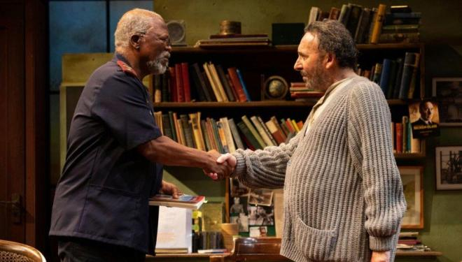 Kunene and the King starring John Kani (left) and Sir Antony Sher (right) by Ellie Kurttz