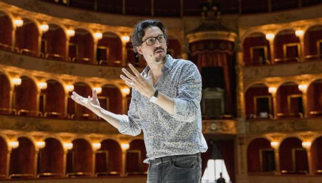 Damiano Michieletto: 'Arts make us more sensitive'