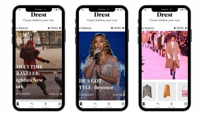 Drest: fashion gaming app