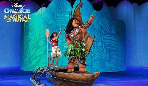 Catch Moana, Elsa and more at Disney On Ice's Magical Ice Festival