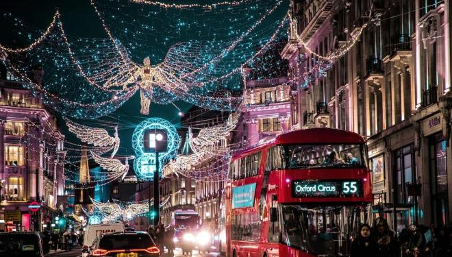 Where to see the Christmas lights twinkle: London 2019