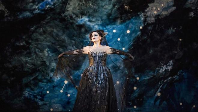 Tuuli Takala is an imperious Queen of the Night at Covent Garden. Photo: Tristram Kenton