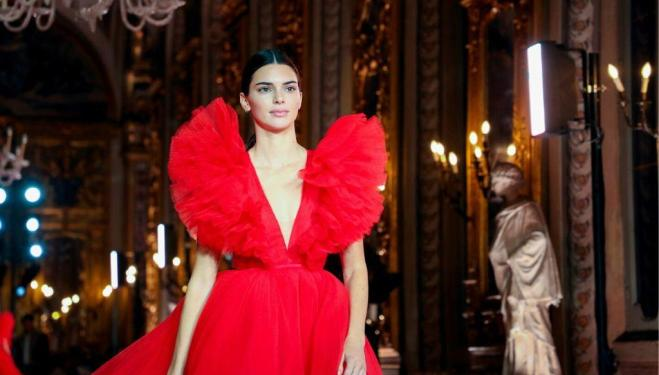 Kendall Jenner: Giambattista Valli H&M collaboration