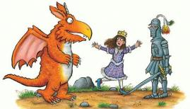 © Zog by Julia Donaldson, illustrated by Axel Scheffler 2010 (Alison Green Books)
